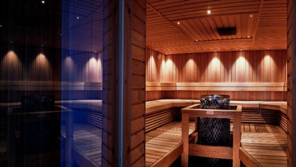 Sauna & kabinetti 1